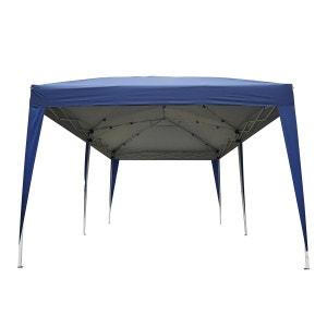 Tonnelle barnum tente de réception pliante 3 x 6 m bleu + sac de transport - OUTSUNNY OUTSUNNY