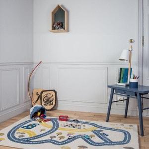CIRCUIT Bleu rectangle chambre bebe garçon par Art For Kids ART FOR KIDS