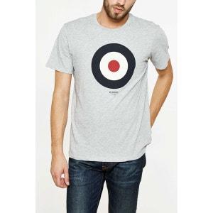 Tee Shirt Ben Sherman Target Basic Gris Homme BEN SHERMAN