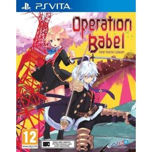 Operation Babel : New Tokyo Legacy PSvita NIS AMERICA