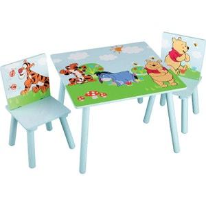 Bureau enfant la redoute - Table et chaise winnie l ourson ...
