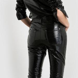Pantalón de talle alto Wanda Nylon x La Redoute