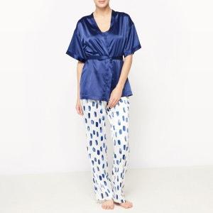 Pyjama 3 pièces satin Louise Marnay