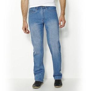 Vaqueros stretch estándar con cintura elástica L2 CASTALUNA FOR MEN