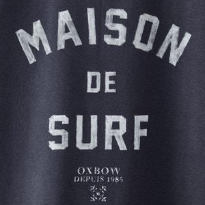 Sivik Brushed Sweatshirt with Print OXBOW