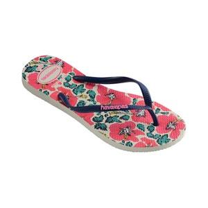 Slim Floral Flip-Flops HAVAIANAS