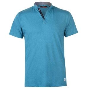 T-shirts à col grand-père manche courte PIERRE CARDIN
