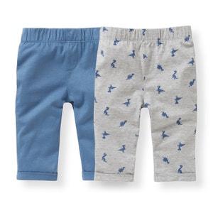 Pantalón chándal de algodón 1 mes - 3 años (lote de 2) R édition