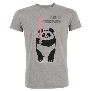 Tshirt Imprimé Bio Col rond Homme I'm a Pandawan ARTECITA