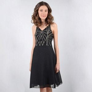 Halflange effen rechte jurk zonder mouwen MOLLY BRACKEN