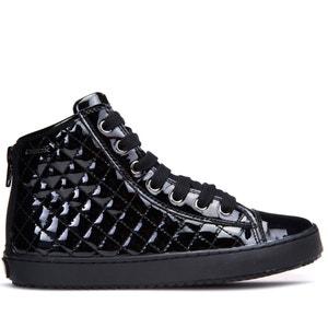 Gelakte hoge sneakers Kalispera GEOX