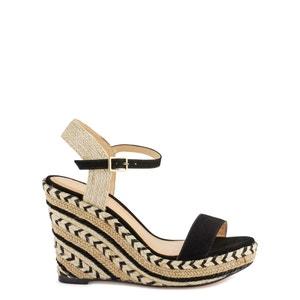 Sandálias de cunha em pele Agaya COSMOPARIS