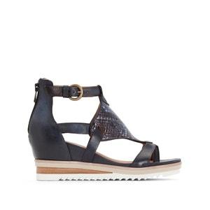 Sandales cuir compensées Pampas MJUS