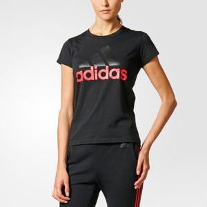 Camiseta con cuello redondo, motivo delante ADIDAS