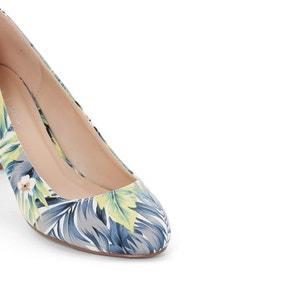Zapatos de tacón con estampado tropical R édition