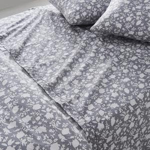 Céleste Floral Print Flat Sheet La Redoute Interieurs