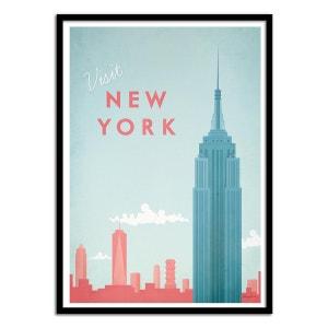 Affiche art 50x70 cm Voyage à New-York WALL EDITIONS