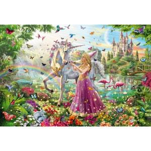 Puzzle 200 pièces : Belle fée dans la forêt magique SCHMIDT