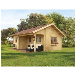 abri de jardin avec auvent la redoute. Black Bedroom Furniture Sets. Home Design Ideas