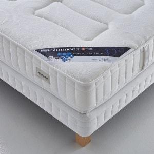 Matelas No Flip® ressorts ensachés Sensoft ® grand confort ferme, haut. 22 cm SIMMONS