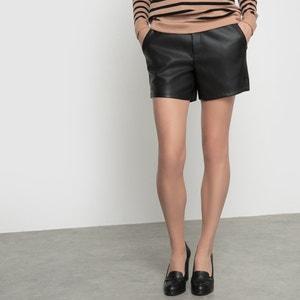 Vipen Faux Leather Shorts VILA