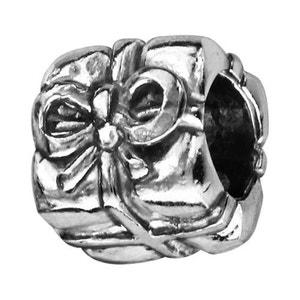 Charm Paquet Cadeau Surprise Fête Argent 925 - Compatible Pandora, Trollbeads, Chamilia, Biagi SO CHIC BIJOUX