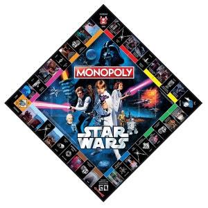 Monopoly Star Wars 40 ans HASBRO