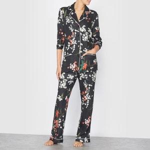 Pijama masculino estampado de flores SOPHIE MALAGOLA PARIS X LA REDOUTE MADAME