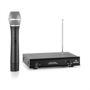 auna VHF-1-H Set système sans fil monocanal VHF micro à main portée 50m AUNA