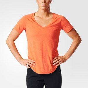 Camiseta lisa, cuello redondo ADIDAS