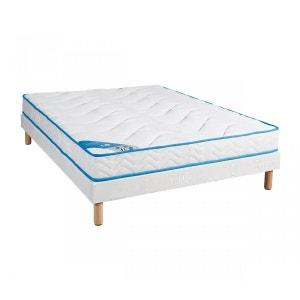 ensemble matelas latex 7 zones sommier la redoute. Black Bedroom Furniture Sets. Home Design Ideas