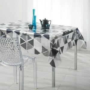Nappe imperméable rectangulaire en PVC 140 x 240 cm Imprimé triangles DOUCEUR D'INTÉRIEUR