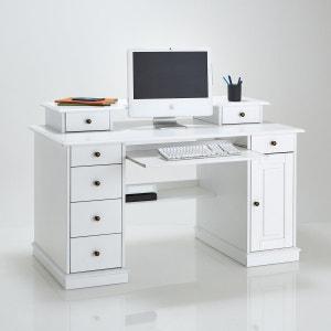Authentic Style Solid Pine Multimedia Desk La Redoute Interieurs