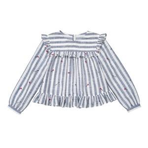Gestreepte blouse met lange mouwen, 3-12 jr La Redoute Collections
