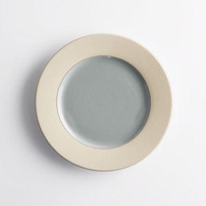 Prato de sobremesa em cerâmica, Warota (lote de 4) La Redoute Interieurs