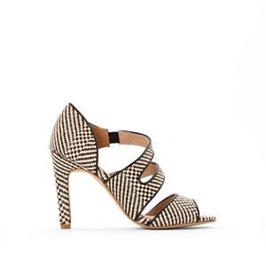 Sandales tressées brides asymétriques atelier R