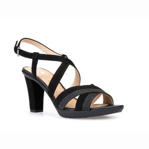 Sandálias com tacão D Jadalis B GEOX