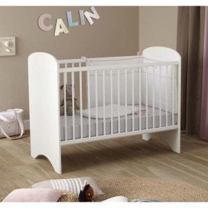 Lit bébé sweety blanc 60x120 - Domiva DOMIVA