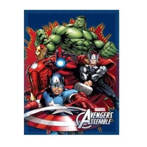 AVENGERS Plaid ou couverture polaire The Avengers Hulk Thor Iron man Captain america AVENGERS