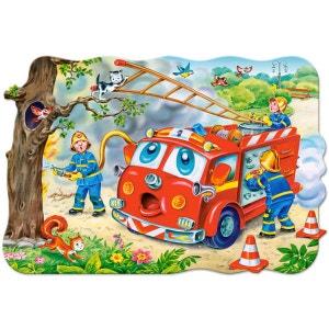 Puzzle 20 pièces maxi : Brigade des pompiers CASTORLAND