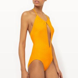 Textured Polka Dot Swimsuit R édition