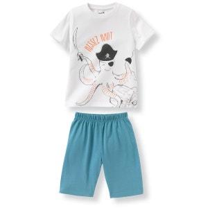 Pyjashort coton ''pieuvre'' 2-12 ans R Edition