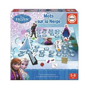 Jeu éducatif La Reine des Neiges (Frozen) : Mots sur la neige EDUCA