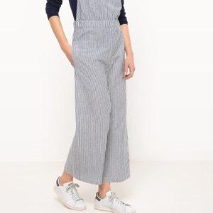 Combinaison pantalon rayée, taille élastiquée R studio