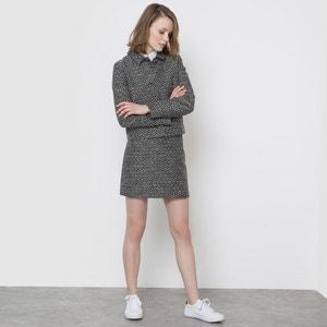 Jacquard A-Line Skirt MADEMOISELLE R