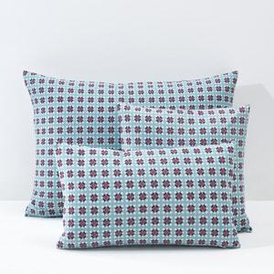 Amélia Cotton Percale Cushion Cover or Pillowcase La Redoute Interieurs