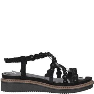 Sandales cuir compensées Eda TAMARIS