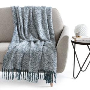 Plaid tricot chiné, Flevo La Redoute Interieurs