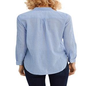 Camicia dritta a righe ESPRIT