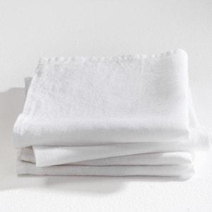 Serviettes de table pur lin Linette (lot de 4) AM.PM